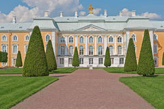 Peterhof Grand Palace Park Royalty Free Stock Images