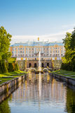 The Peterhof Grand Palace Royalty Free Stock Images