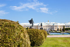 Peterhof Grand Palace in Russia Stock Photos