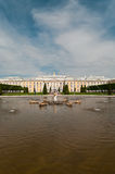Peterhof Grand Palace in Saint-Petersburg, Russia Stock Image