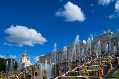 Peterhof Grand Palace Stock Photo