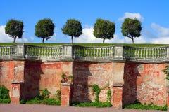 Peterhof, la parete del giardino del Venere Fotografie Stock Libere da Diritti