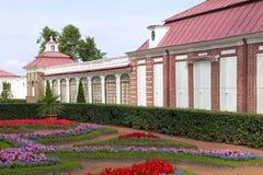 Peterhof pałac, święty Petersburg, Rosja Zdjęcia Royalty Free