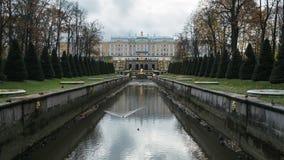 Peterhof pałac bez wody zbiory