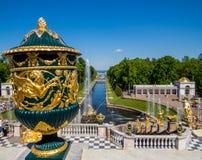 Peterhof pałac Zdjęcie Royalty Free