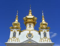 Peterhof Palace Stock Photo