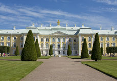 Peterhof, palace Royalty Free Stock Photo