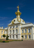 Peterhof, palace church of St. Peter and Paul Royalty Free Stock Images