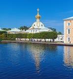 Peterhof Palace at Day, Saint Petersburg Stock Photos
