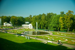 Peterhof Palace garden Royalty Free Stock Photography