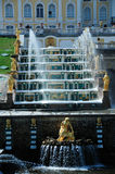 Peterhof Palace and Gardens Stock Images
