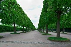 Peterhof Palace.Lower Park gardens Stock Photo