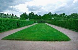 Peterhof Palace.Lower Park gardens Royalty Free Stock Image