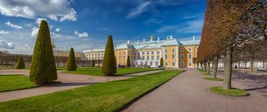 Peterhof Palace  in Petergof, Saint Petersburg, Russia Royalty Free Stock Photos