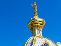 Peterhof Palace (Petrodvorets) in Saint Petersburg, Russia Stock Images