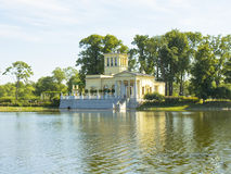 Peterhof, palace of princess Olga Royalty Free Stock Photo