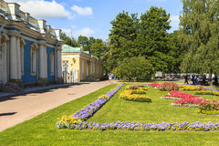Peterhof Palace in Saint Petersburg. This photo was taken in Peterhof Palace in Saint Petersburg, Russia. Peterhof Palace in Saint Petersburg Royalty Free Stock Photos