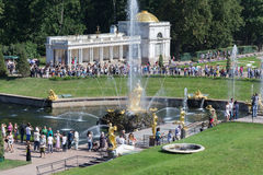 The Peterhof Palace Royalty Free Stock Images