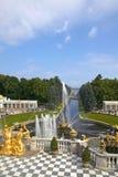 Peterhof Palace, Saint Petersburg, Russia Royalty Free Stock Photo