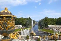 Peterhof Palace, Saint Petersburg, Russia Royalty Free Stock Photography