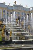 Peterhof Palace, Saint Petersburg, Russia Stock Image