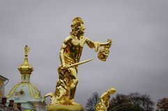 Peterhof Palace in Saint Petersburg, Russia Royalty Free Stock Photo