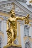 Peterhof. Perseus. Ancient hero Perseus with Medusa's head Royalty Free Stock Images