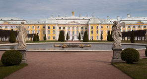 Peterhof (Petroverts) Palace Stock Photo