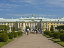 Peterhof, Rússia Foto de Stock