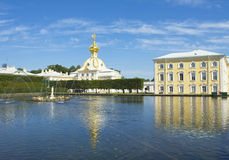 Peterhof, Rosja Zdjęcia Stock