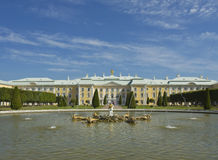 Peterhof, Rosja Obraz Royalty Free