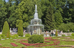 Peterhof, Rosja Zdjęcia Royalty Free