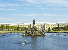 Peterhof, Russia Stock Image