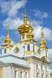 PETERHOF, RUSSIA. Fragment of Church of Saints Peter and Paul Royalty Free Stock Photography