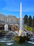 Peterhof in Russia Stock Photo