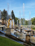Peterhof in Russia Stock Image