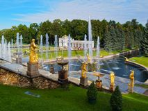 Peterhof in Russia Royalty Free Stock Image