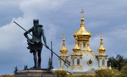 Peterhof in Russia Stock Images