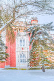 Peterhof Russia Imperial stables winter Royalty Free Stock Photography