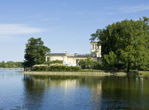 Peterhof, palace of princes Olga Stock Photos
