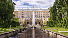Peterhof, Russia (UNESCO World Heritage) Stock Photography
