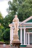 PETERHOF, RUSSIE - 15 08 2008 : Fontaine Eva en parc inférieur Photographie stock