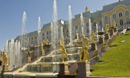 Peterhof, Russland Stockfotos