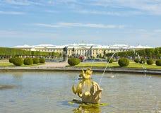 Peterhof, Russland lizenzfreies stockfoto