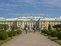 Peterhof, Russland stockfoto
