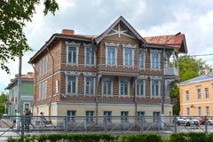 Peterhof, Russland Ansicht des ehemaligen Zustandes I A Khrushcheva lizenzfreies stockfoto