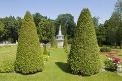 Peterhof Ryssland Royaltyfria Bilder