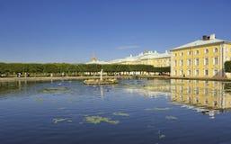 Peterhof San Pietroburgo Immagini Stock