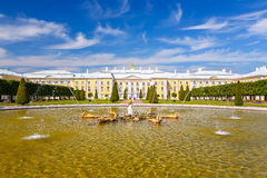 Peterhof, St Petersburg Stock Images