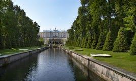 Peterhof. St. Petersburg. Russia Royalty Free Stock Image